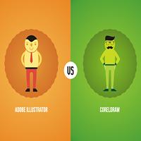 Perbedaan Adobe Illustrator VS Corel Draw
