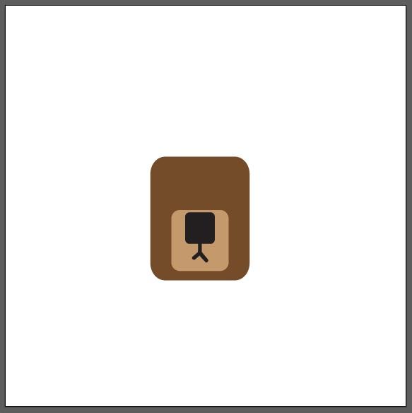 tutorial flat design logo beruang sederhana kursus