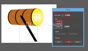 Cara Membuat Bedug Di Illustrator-10
