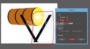 Cara Membuat Bedug Di Illustrator-11