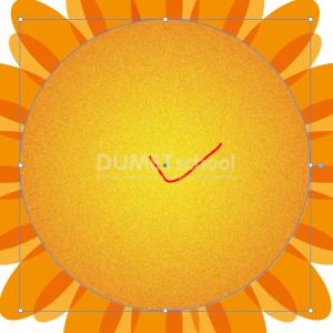 Cara Membuat Bunga Matahari Sederhana-10