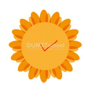 Cara Membuat Bunga Matahari Sederhana-8