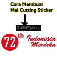 Cara Membuat Mal Cutting Sticker