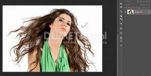 Cara Cepat Seleksi Detail Rambut Dengan Photoshop-1