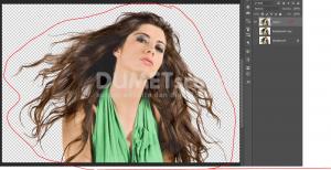 Cara Cepat Seleksi Detail Rambut Dengan Photoshop-10