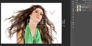 Cara Cepat Seleksi Detail Rambut Dengan Photoshop-2