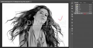 Cara Cepat Seleksi Detail Rambut Dengan Photoshop-4