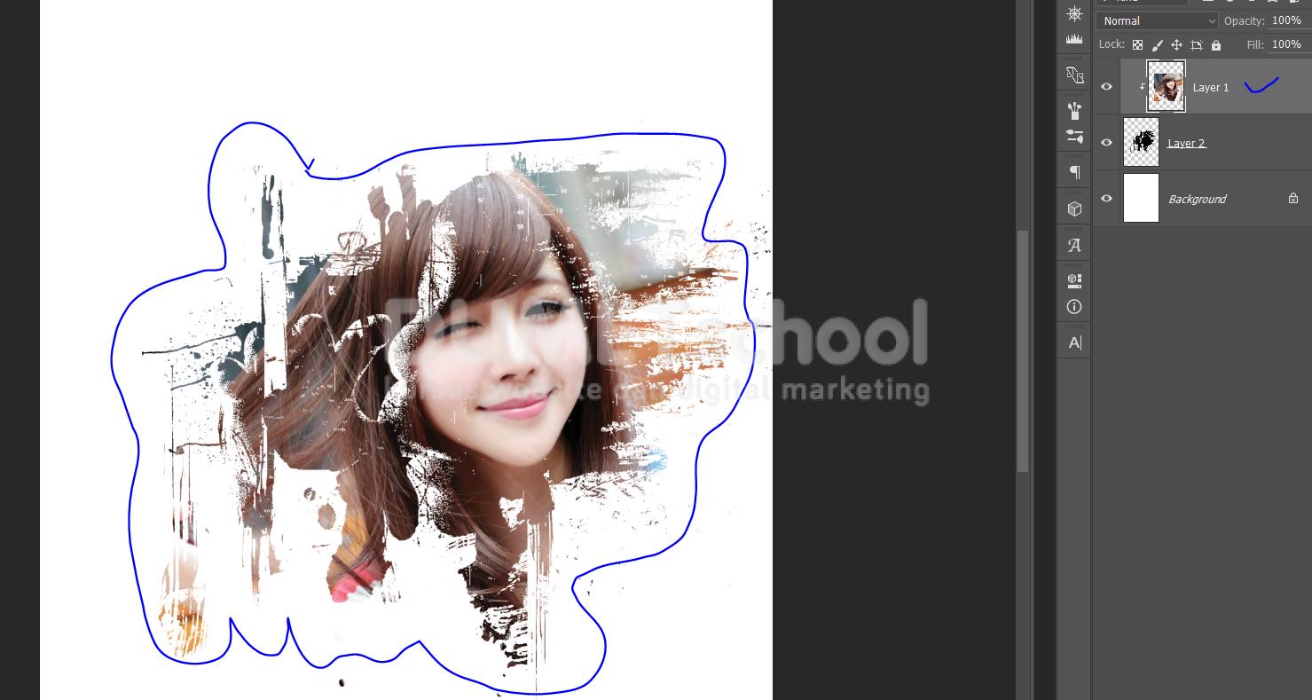 Cara menerangkan foto dengan photoshop cs2 94