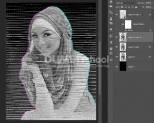 Cara Membuat Efek Glitch Dengan Photoshop-9