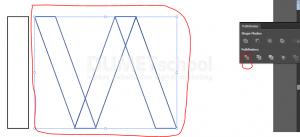 Cara Buat Logo eksklusif Dengan Rectangle Tool-7