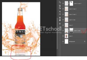 Cara Membuat Efek Cipratan Air Pada Produk Minuman-10