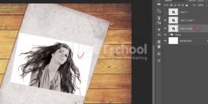 Cara Membuat Efek Gambar Sketsa 3D Di Photoshop-12