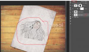 Cara Membuat Efek Gambar Sketsa 3D Di Photoshop-19