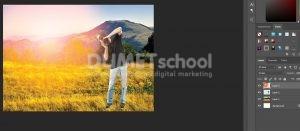 Cara Cepat Buat Efek Sunset Di Photoshop-10