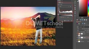 Cara Cepat Buat Efek Sunset Di Photoshop-12