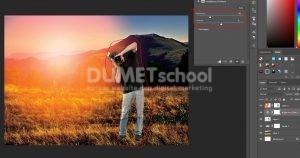 Cara Cepat Buat Efek Sunset Di Photoshop-13