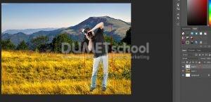 Cara Cepat Buat Efek Sunset Di Photoshop-6