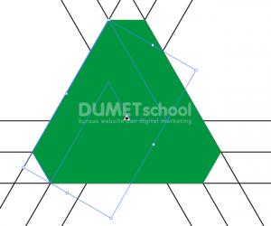 Cara Membuat Logo Triangle Shape-10