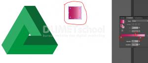 Cara Membuat Logo Triangle Shape-13