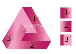 Cara Membuat Logo Triangle Shape-15