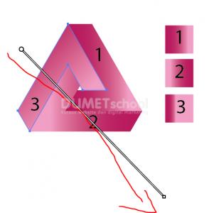 Cara Membuat Logo Triangle Shape-16