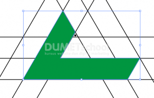 Cara Membuat Logo Triangle Shape-8