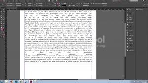 Menghapus Kelebihan Kata Pada Software Pengolah Gambar Adobe Indesign