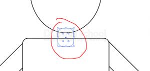 Cara Menggambar Karakter Flat Animasi Sederhana Dengan Illustrator-12