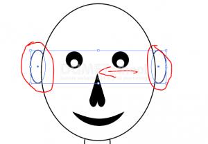 Cara Menggambar Karakter Flat Animasi Sederhana Dengan Illustrator-15