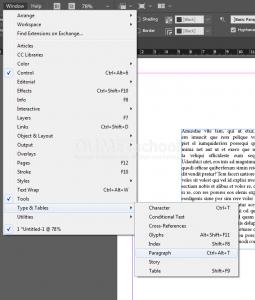 Mengenal Drop Cap pada Software Pengolah Gambar Adobe Indesign
