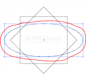 Cara Membuat Bentuk Objek Custom Di Illustrator - 4