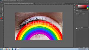 Merubah Warna Mata Dengan Menggunakan Software Adobe Photoshop