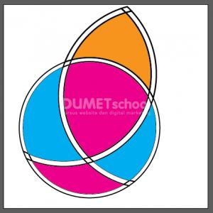 Memanfaatkan Objek Lingkaran Untuk Membuat Logo - 9