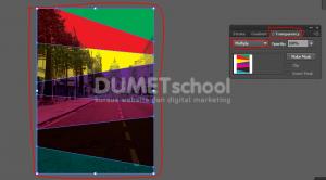 Membuat Sentuhan Gambar Dengan Blend Mode Di Illustrator - 9