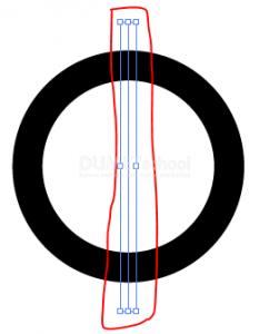 Cara Membuat Potongan Sama Rata Di Lingkaran - 4