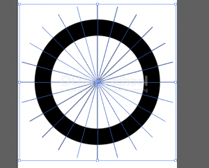 Cara Membuat Potongan Sama Rata Di Lingkaran - 5