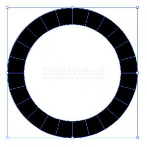 Cara Membuat Potongan Sama Rata Di Lingkaran - 6