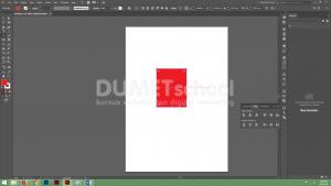 menjelaskan bagaimana cara memunculkan kembali Bounding Box di Adobe Illustrator