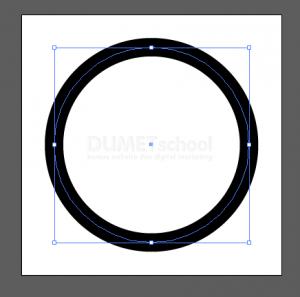 Membuat Huruf M Dari Rectangle Dan Ellipse Tool - 2