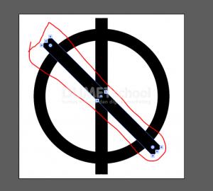 Membuat Huruf M Dari Rectangle Dan Ellipse Tool - 5