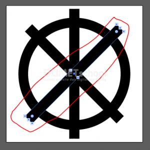 Membuat Huruf M Dari Rectangle Dan Ellipse Tool - 6