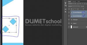 Cara Membuat X - Banner Menggunakan Adobe Photoshop - 9