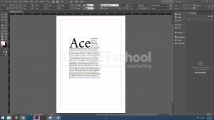 Cara Menambah Drop Caps pada Software Pengolah Gambar Adobe Indesign