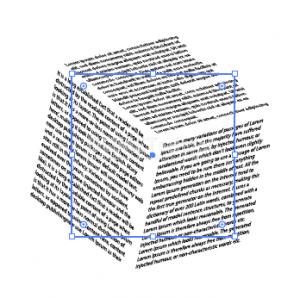 Cara Menambahkan Teks Pada Bentuk 3D - 11