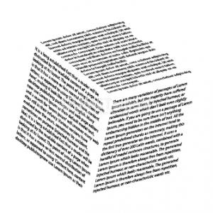 Cara Menambahkan Teks Pada Bentuk 3D - 12