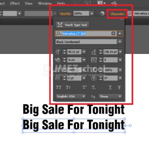 Cara Mengatur Teks Di Adobe Illustrator - 4