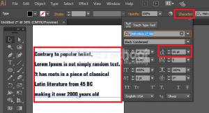 Cara Mengatur Teks Di Adobe Illustrator - 7