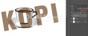 Cara Mengkombinasikan Gambar Dengan Teks Di Photoshop - 5
