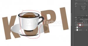 Cara Mengkombinasikan Gambar Dengan Teks Di Photoshop - 6