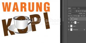 Cara Mengkombinasikan Gambar Dengan Teks Di Photoshop - 8